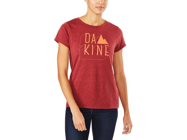 Dakine Da MTN T-Shirt Damer rød | Trøjer